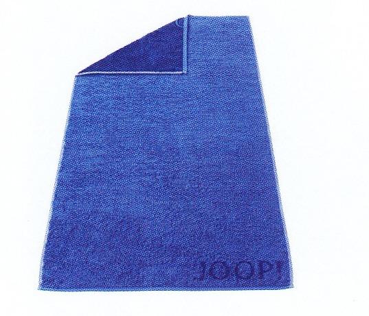 Joop! Colourvision Doubleface Waschhandschuh 16 x 22 cm polarblau